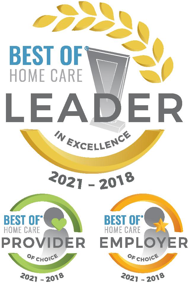 Home Care Pulse Awards 2021 through 2018